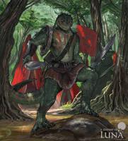 General crocodile warrior by ThemeFinland