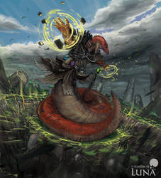 Naga geomancer by ThemeFinland