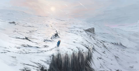 Approaching the peak by ThemeFinland