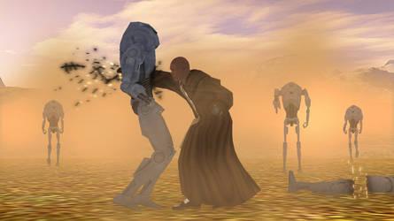 Battle of Dantooine by ShenLongKazama