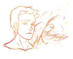 Barry Allen by scribbledit