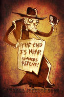 Reverend Crazypants by skullberries