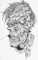 Undead Fred by skullberries