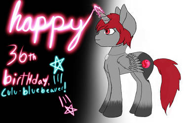 A birthday gift for culu-bluebeaver by GreyLightSolstice13