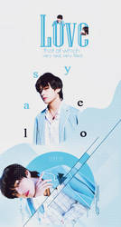 [GRAPHIC COVER] V  (BTS) - DESIGN BY TRACY TRACY by tracytrantran
