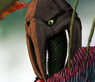 Forest elemental Head by BrainGhost