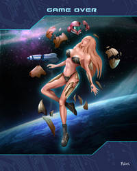 Samus - Game Over by Felox08
