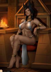Anubis Princess Pharah by Felox08