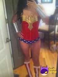 Wonder Woman Top (For Sale) by teenygeek