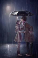 Winter Rain by ClaudiaSutton
