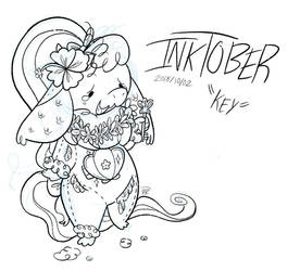 Inktober Day 2 - Key by nate-draws