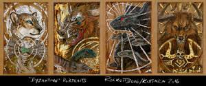 Byzantine Badges 2015 batch 2 by kittiara