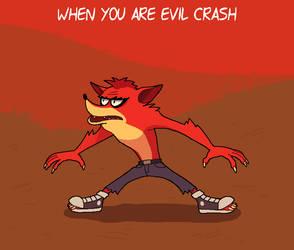 Evil Crash by KempferZero