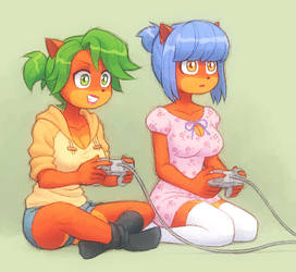 Gamers by KempferZero