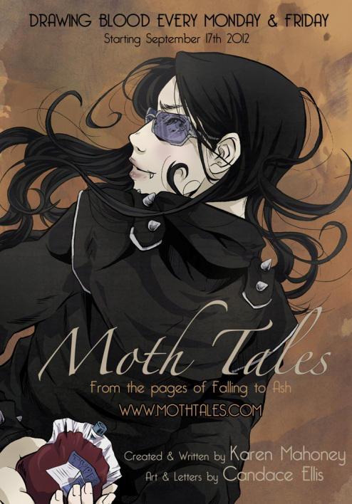 Moth Tales by bybystarlight