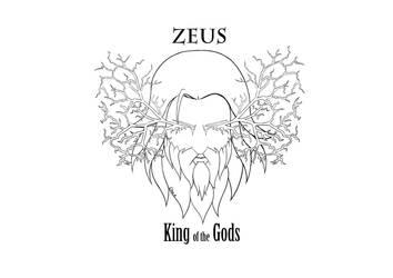 Zeus 1 line art by donut1280
