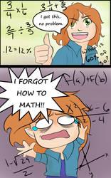 Forgot How To Math by Wildchild090