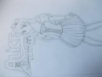 Alice in wonderland by Doundou