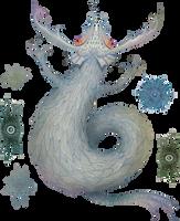 Sea Dragon with Plankton by V-L-A-D-I-M-I-R