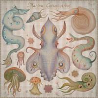 Marine Curiosities tab. III by V-L-A-D-I-M-I-R
