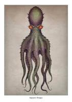 Gigantic octopus by V-L-A-D-I-M-I-R