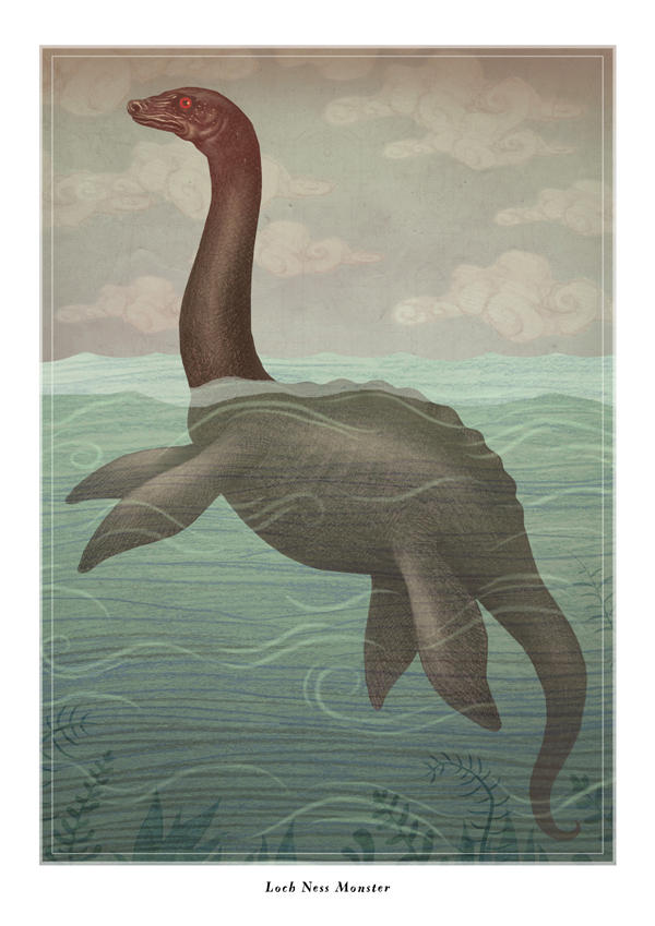 Loch Ness Monster by V-L-A-D-I-M-I-R
