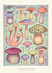 Fun, Fun, Fungi by V-L-A-D-I-M-I-R