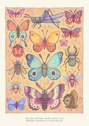 Bugs, Moths, Flies... by V-L-A-D-I-M-I-R