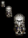 Chosen Undead / Oscar Dark Souls Overworld Sprite by Lucky96u