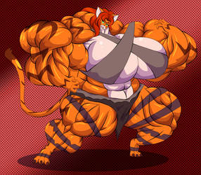 The ultimate chaotic tiger by OutlawMoruko
