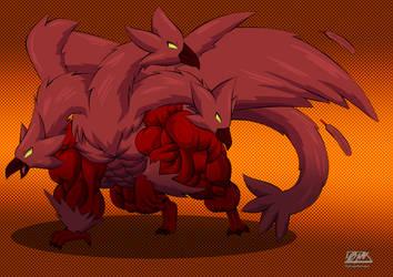 Dragon Hawk (Redsign) by OutlawMoruko
