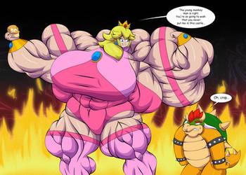 Hyper boost peach by OutlawMoruko