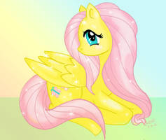 Once Bitten Twice Fluttershy by MillyT