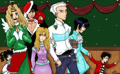 Trigun Christmas '07 by MillyT