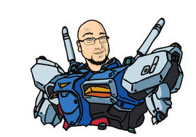 AJ Gundam by MillyT