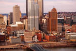 Pittsburgh, PA in Miniature 2 by MillyT