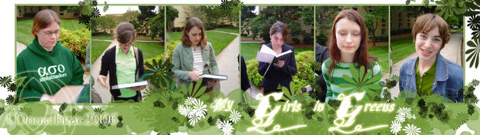 My Girls in Greens by MouseBrat