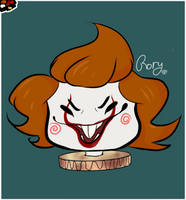 Pennywise Chibi by RoryTheWolf
