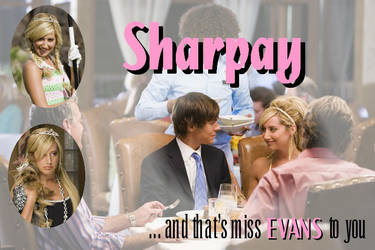SHARPAY - miss evans to you by elesi