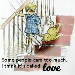 Winnie the Pooh - Love by elesi