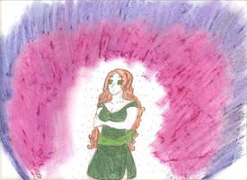 Oil Pastel Tabitha by MistressInsanity