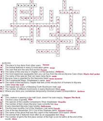 Mycena Word Cross by Zarconianematica