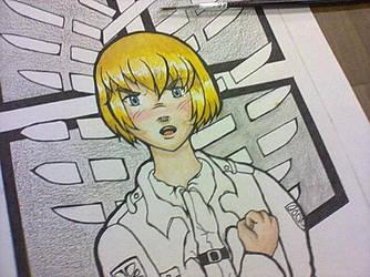 Armin Arlert - WIP by Mistery-forever