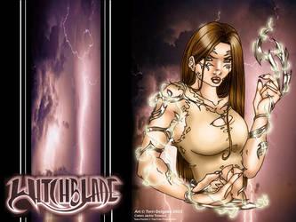 Terri's Witchblade Wallpaper by beretta92