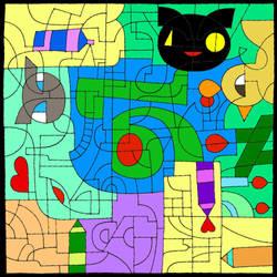 Happy 16th Birthday Deviant Art~! by SlyBlue08