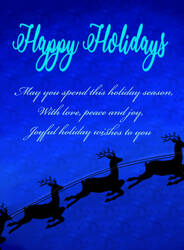 Holiday Card Project 2016 by SlyBlue08