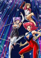 Super Heroine Team! by Kurumi-Lover