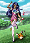 OC Arina Wants to Battle! by Kurumi-Lover