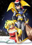 Santa and His Elf by Kurumi-Lover