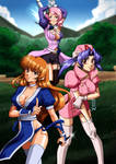 Team Girl Power by Kurumi-Lover